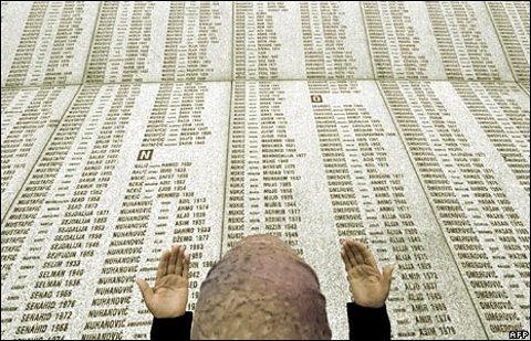 Krigsmonumentet i Srebrenica